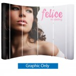 Pop Up 10 ft. Trade Show Display - Graphics Only